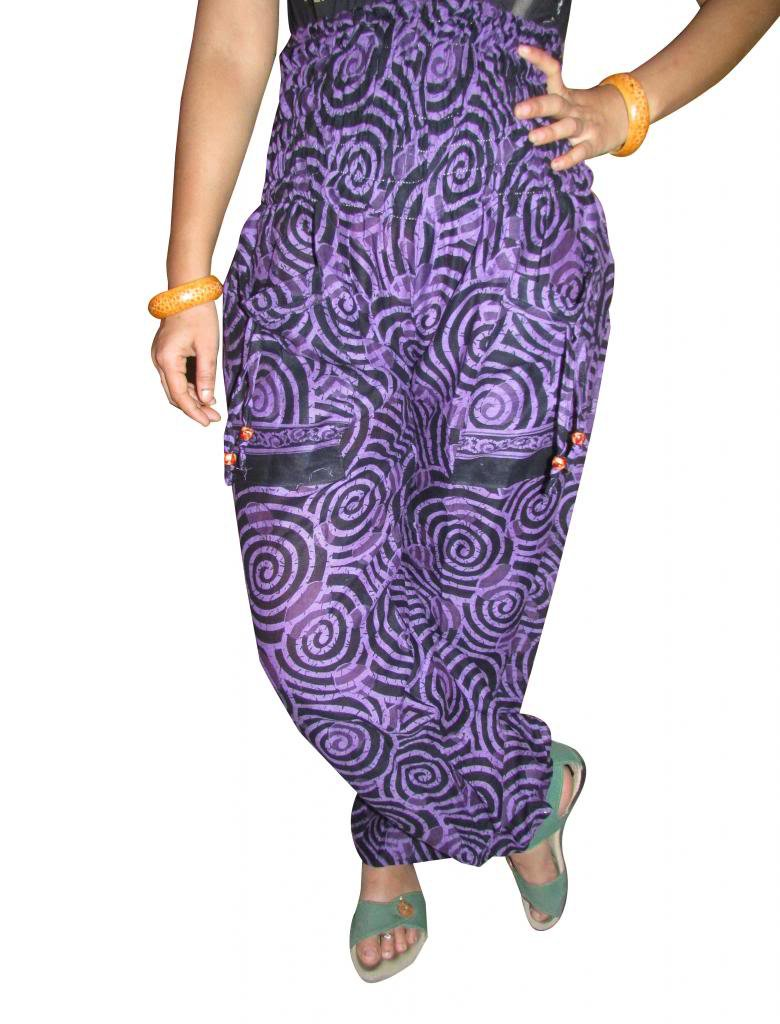 Indian Harem Pants, Aladdin Jump Suit, Boho Pant,Gypsy, Genie, Cotton Trouiser,