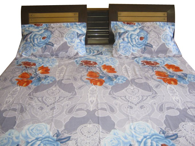 JAIPURI BED Sheet Luxury Cotton Imported New Bed Sheet/ Fine Quality Branded