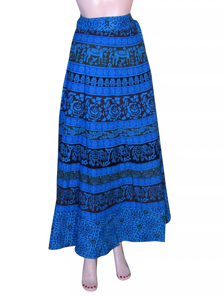 Summer Wear Wrap Round Skirt Beach Casual Party Wear Boho Woman skirts Indian