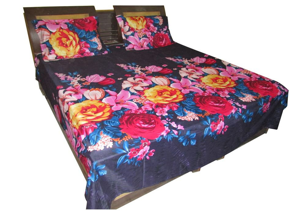 JAIPURI BED Sheet, Luxury Cotton Imported New Bed Sheet/ Fine Quality Branded