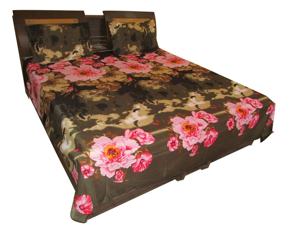 New Bed Sheet/ Fine Quality Branded JAIPURI BED Sheet,  Luxury Cotton Imported