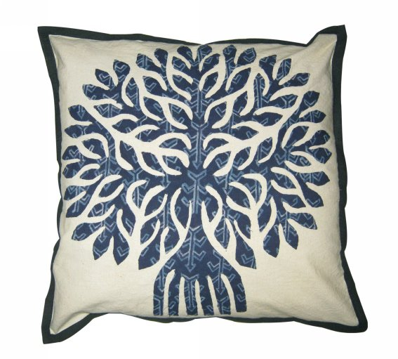 Embroidery Work cushion cover designs  Patch Work Pillow Covers 16 X 16 Throw