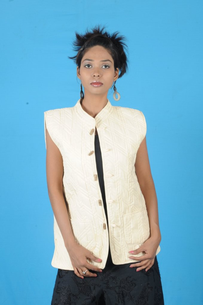 Winter Quilted Cotton Jacket Handicraft Printed Reversible Vintage Gudri Coat