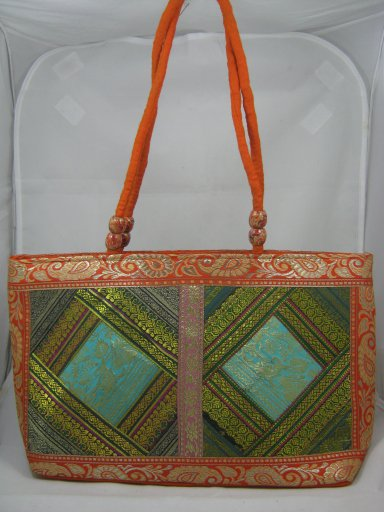 Indian Handmade Ethnic Shoulder Hand Bag Patch work Women's Boho Purse Potli