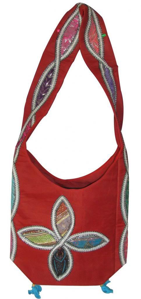 Embroidered Handmade Cross Shoulder Bag, Hippie, Boho, Gypsy Beach, Ethnic Bag