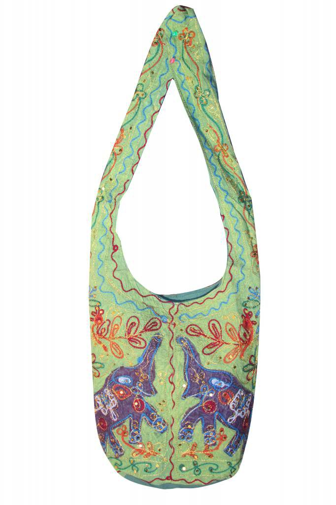 Ethenic Tribal Stylish Handmade Sling Shoulder Bag,  Hippie, Boho, Gypsy Beach,