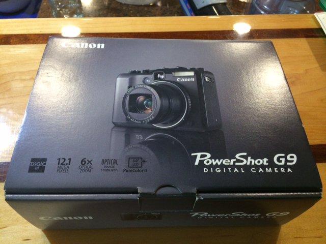 Cannon G9 Camera