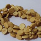 4 Strand Round Wooden Bead Stretch Bracelet Handmade