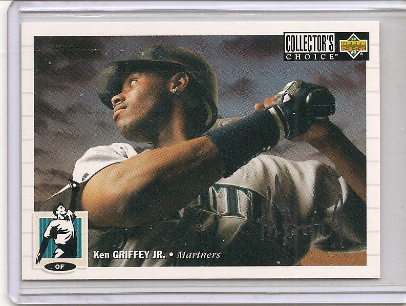 Ken Griffey, Jr. - 1994 Collector's Choice - Silver Signature # 117 Nr. Mint (Item # EC-7)