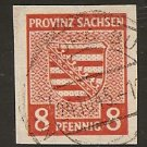 German Democratic Republic - Scott # 13N5a Used (Item # EC-39)