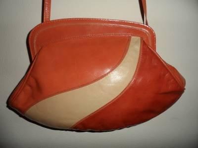 Clutch Purse Leather Small Shoulder Crossbody Bag Italy Designer BARBARA BOLAN