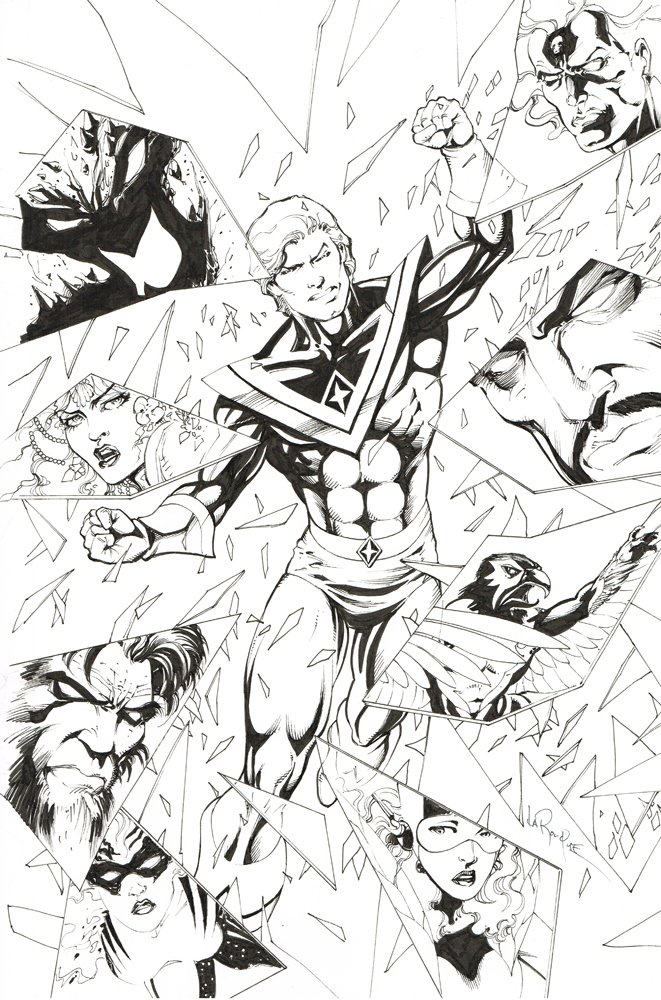 Avatar #1 cover original art