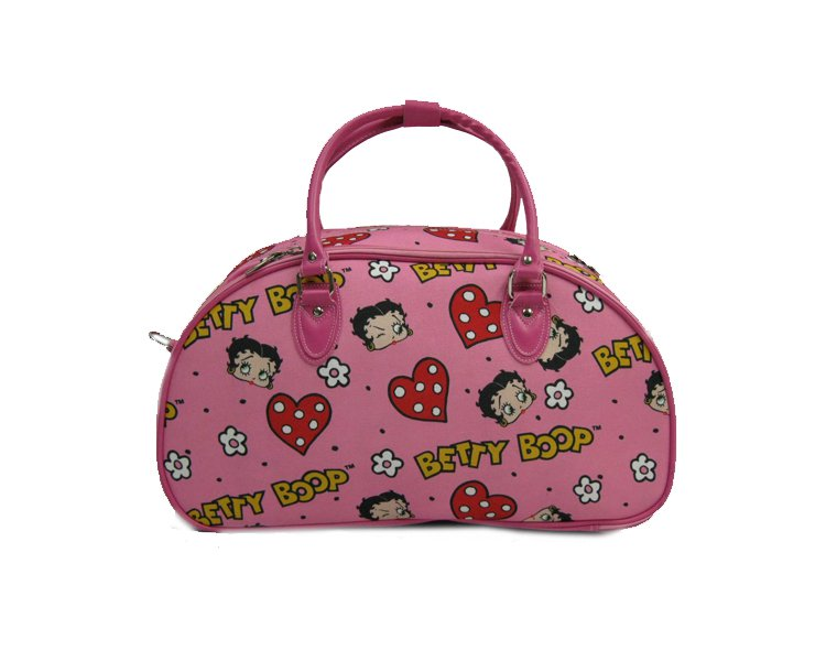 """Betty Boops Pink Carry On Bag - 20"""""""
