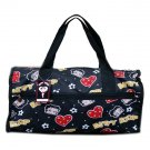 Betty Boops Black Duffel Bag - 19""