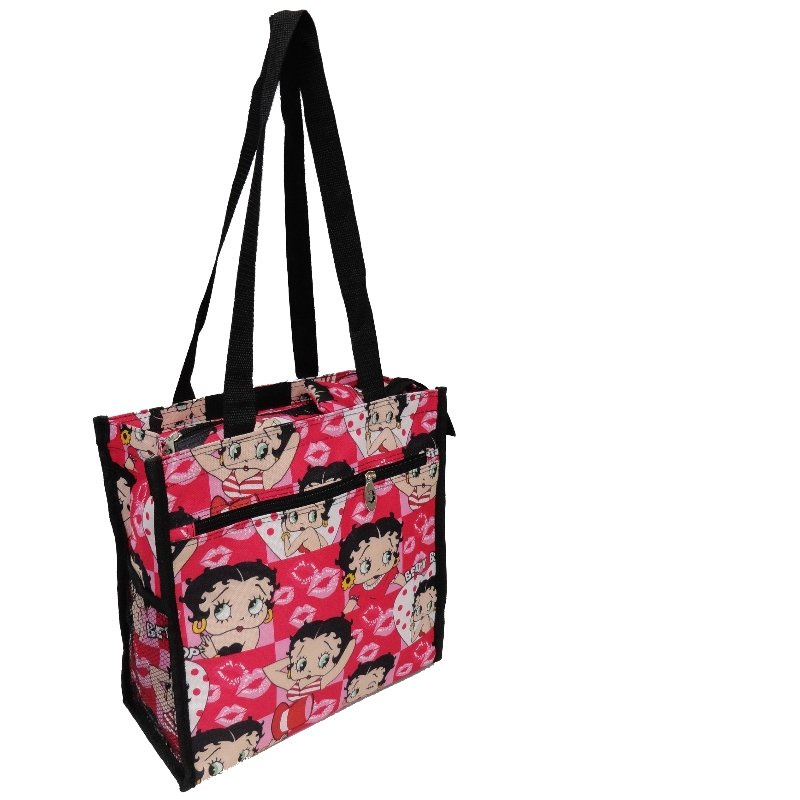 "Betty Boop Pink Tote Bag - 12"""