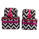 Chevron Black & White 6 Pc Set