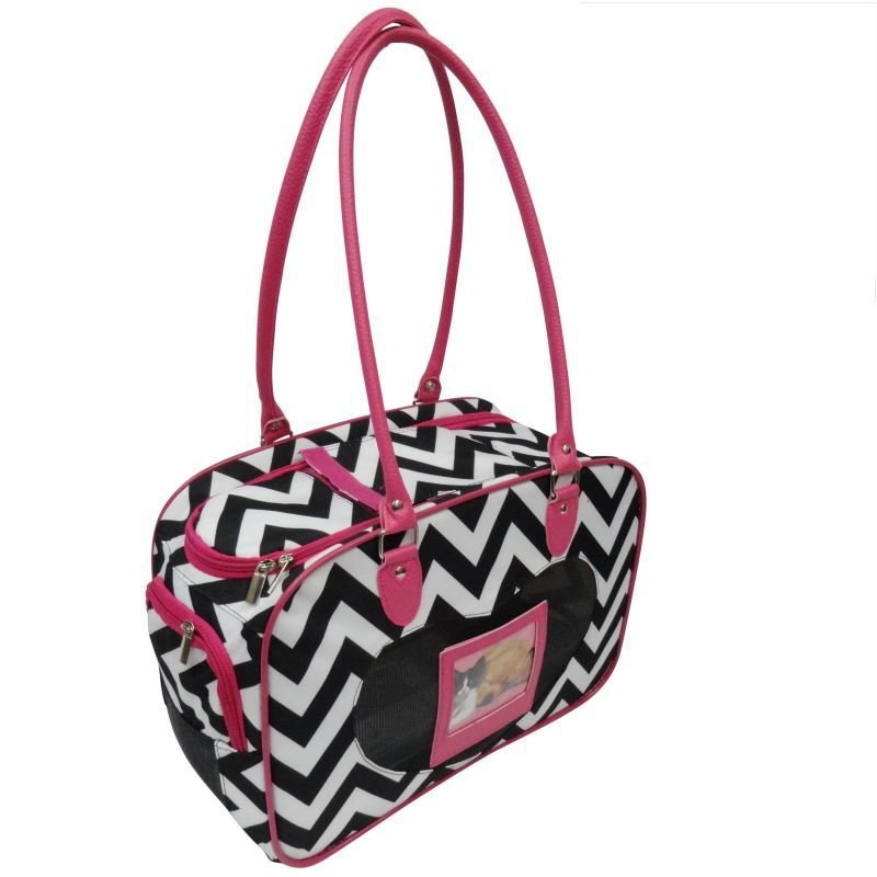 Chevron Pet Carrier