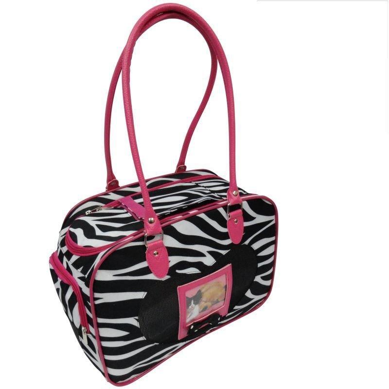 Zebra Pet Carrier