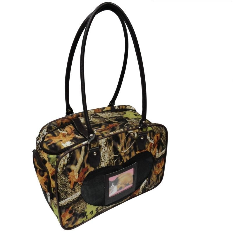 Camouflage Pet Carrier