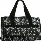 Damask Duffel Bag - 19""
