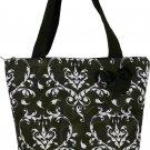 """Damask Shopping Bag -17"""""""