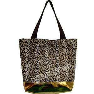 "Leopard Shopping Bag - 17"""