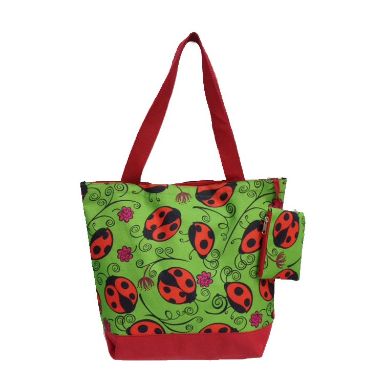 """Ladybug Shopping Bag - 17"""""""
