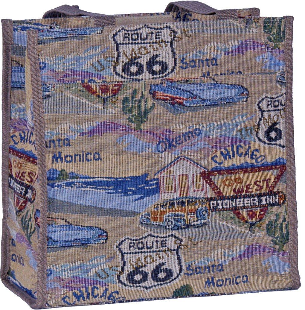 """Route 66 Tote - 12"""""""