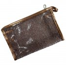 Transparent Cosmetic Bag,Gold