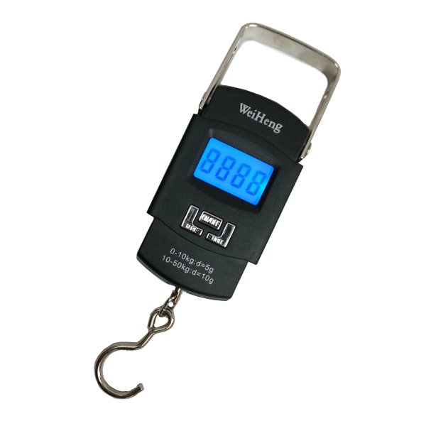 Digital Scale w/Retractable Handle - 80lb Capacity