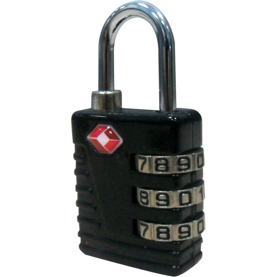 TSA Combination Lock, Black