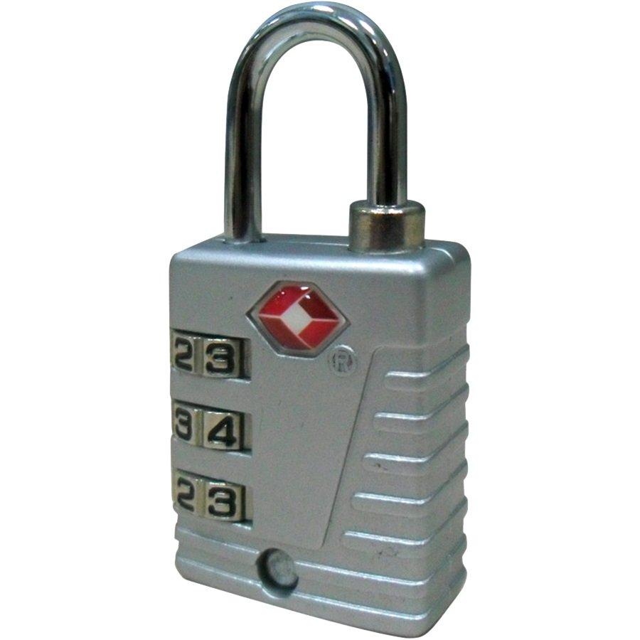 TSA Combination Lock, Gray