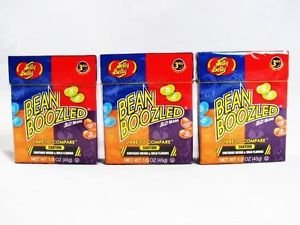3 PACK BEAN BOOZLED JELLY BEANS WEIRD & WILD FLAVORS 1.6 OZ JELLY BELLY 3RD ED Stocking Stuffers