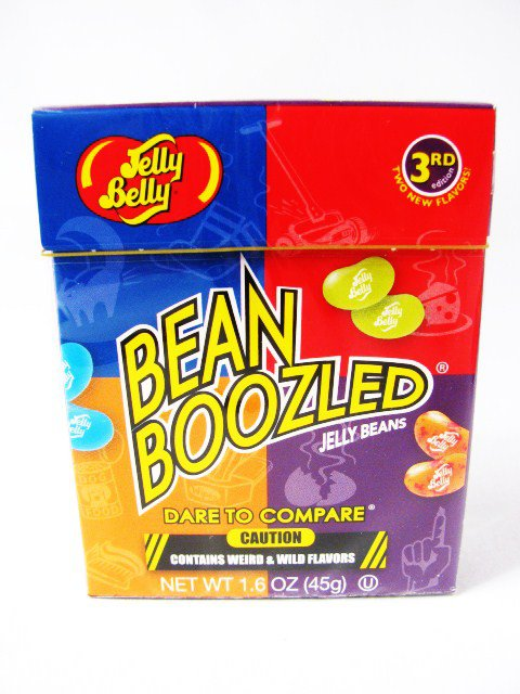 1 PACK BEAN BOOZLED JELLY BEANS WEIRD & WILD FLAVORS 1.6 OZ JELLY BELLY 3RD ED Stocking Stuffers