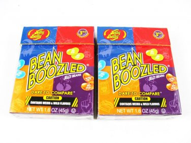 2 Pack  Bean Boozled 3rd Ed 1.6 oz Weird & Wild Flavors Jelly Belly Candy