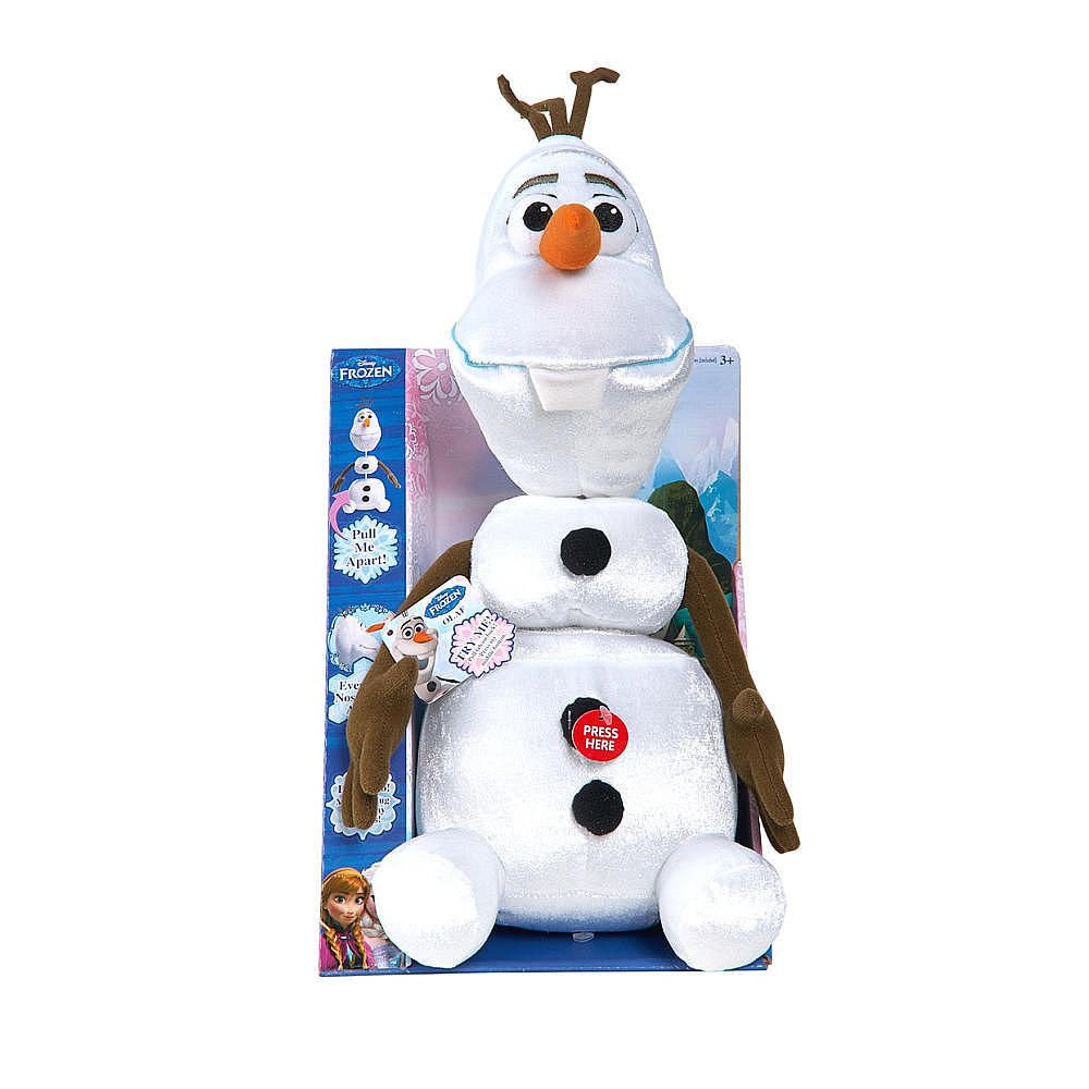 "Disney Frozen Olaf 15"" Talking Pull Apart Plush"