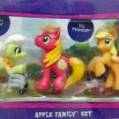 My Little Pony ULTRA RARE Apple Family Set w/FREE PONY BLIND BAG