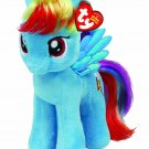 My Little Pony Ty Beanie Baby Rainbow Dash (w/FREE NEON PONY BLIND BAG!)
