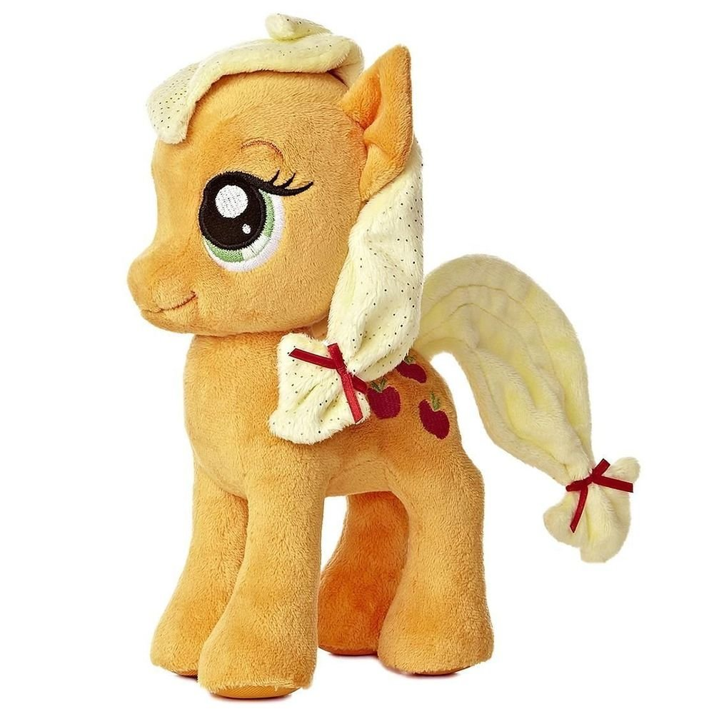 "My Little Pony Aurora Plush Applejack 10"" w/FREE PONY BLIND BAG"