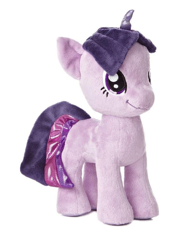 """My Little Pony Aurora Plush Twilight Sparkle 10"""" w/FREE PONY BLIND BAG"""