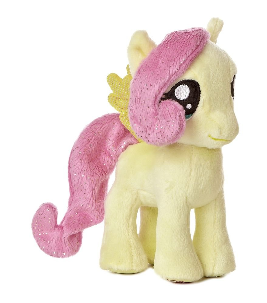 "My Little Pony Aurora Plush Fluttershy 10"" w/FREE PONY BLIND BAG"