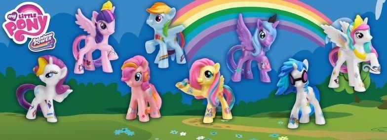 My Little Pony McDonald's 2014 Complete Set w/FREE PONY BLIND BAG