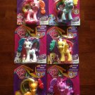 My Little Pony Rainbow Power Mane Six Complete Set w/FREE PONY BLIND BAG