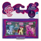 My Little Pony Pony Lesson Silver Spoon, Twistaloo, Cherilee w/FREE BLIND BAG