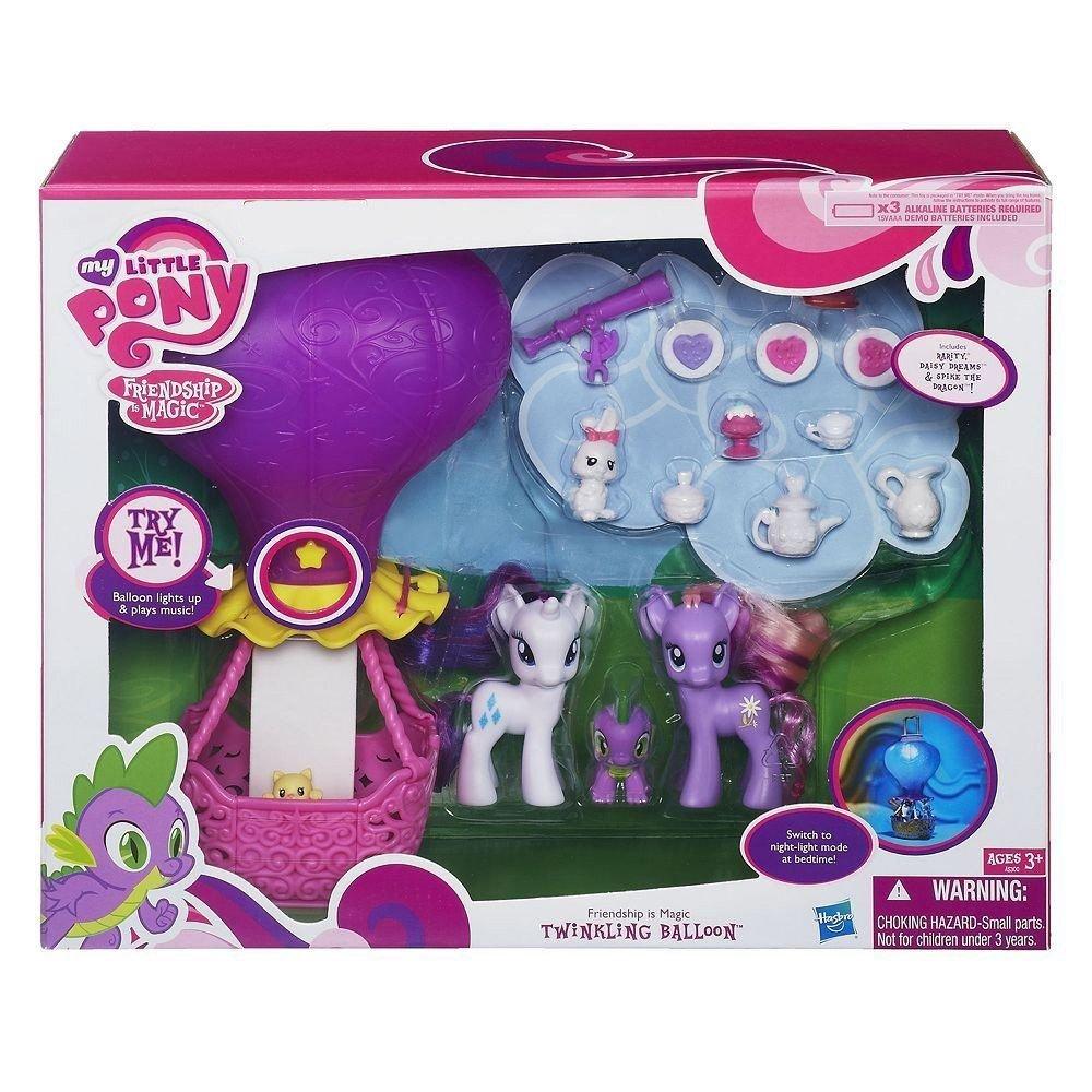 My Little Pony Twinkling Balloon Kohl's Exclusive w/ FREE NEON PONY BLIND BAG