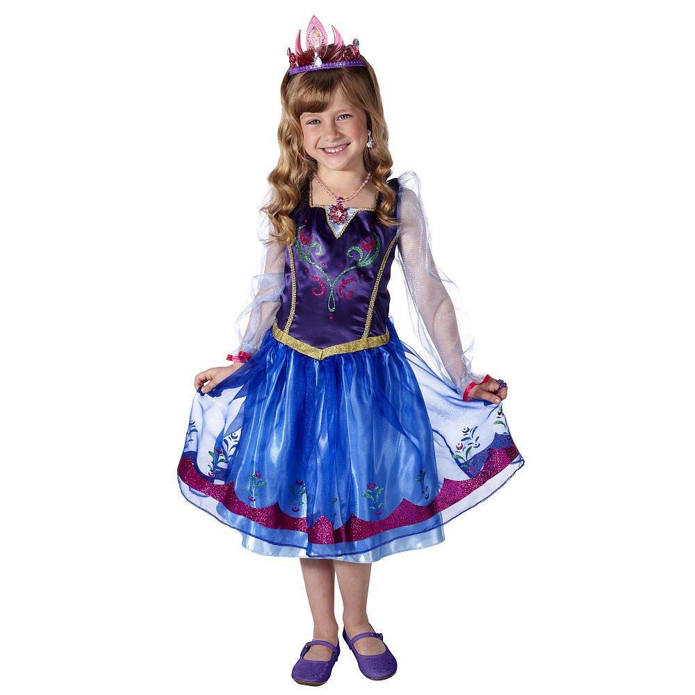 Disney Frozen Anna Dress w/FREE Anna Tiara