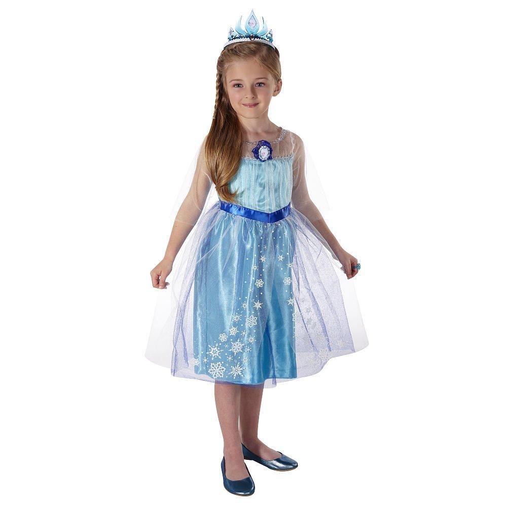 Disney Frozen Elsa Dress w/ FREE Elsa Tiara