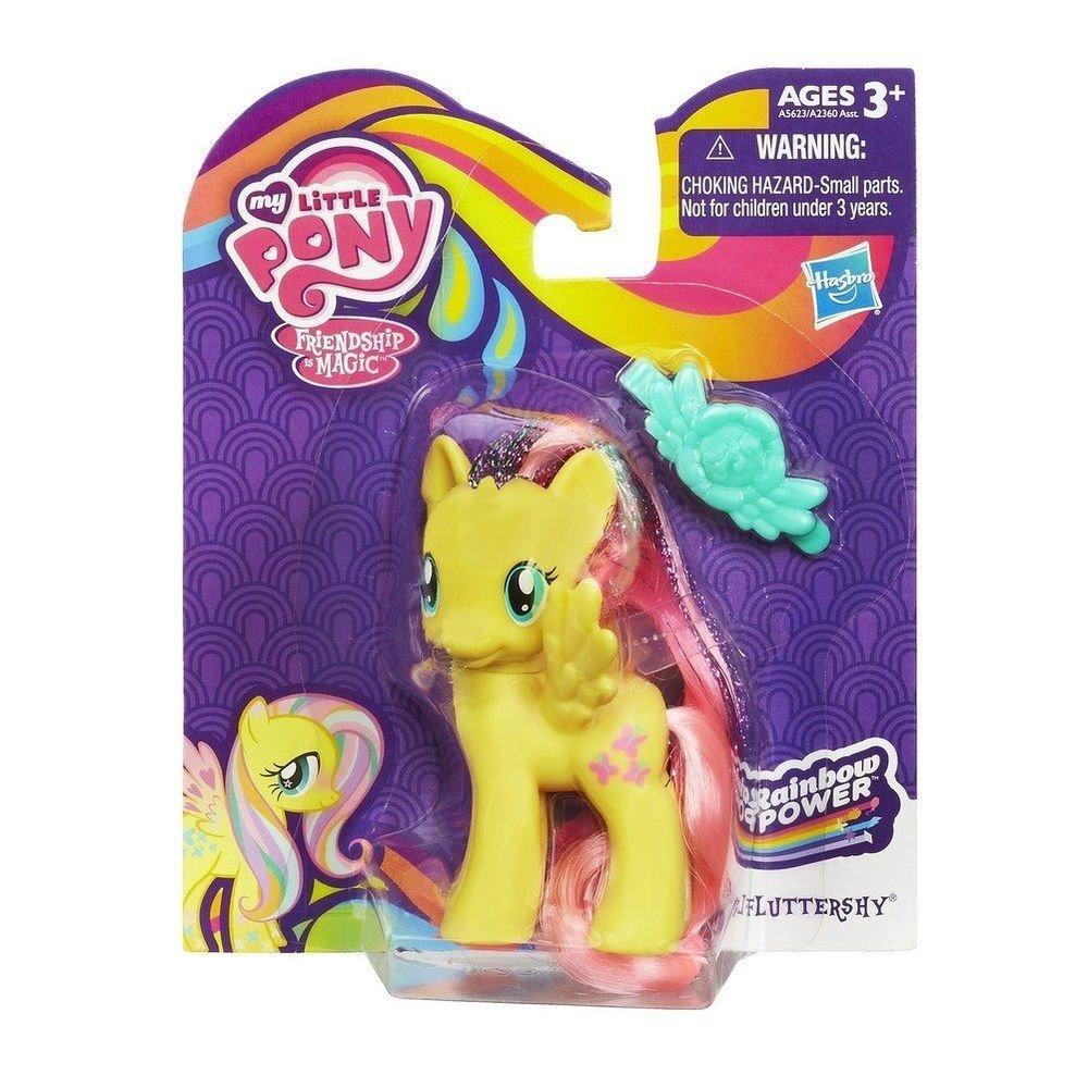 My Little Pony Fluttershy Rainbow Power w/ FREE Pony Blind Bag