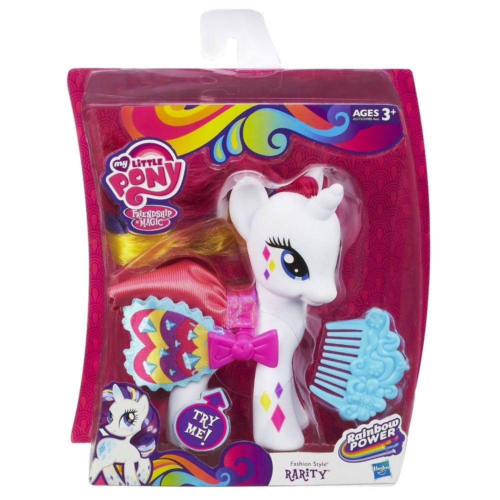 My Little Pony Fashion Style Rarity (Rainbow Power) w/FREE BLINDBAG