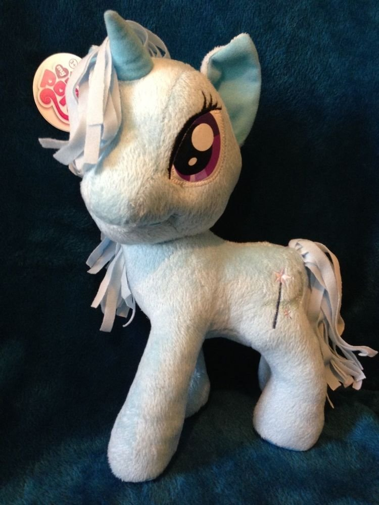 "My Little Pony Funrise Plush Trixie Lulamoon 11"" w/FREE PONY BLIND BAG"